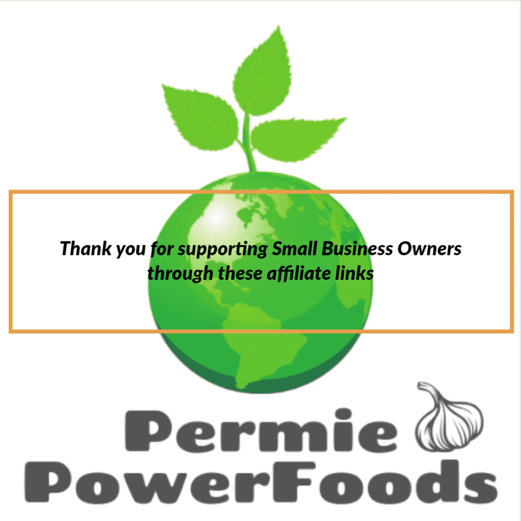 Thank you for supporting small business owners from permie power foods