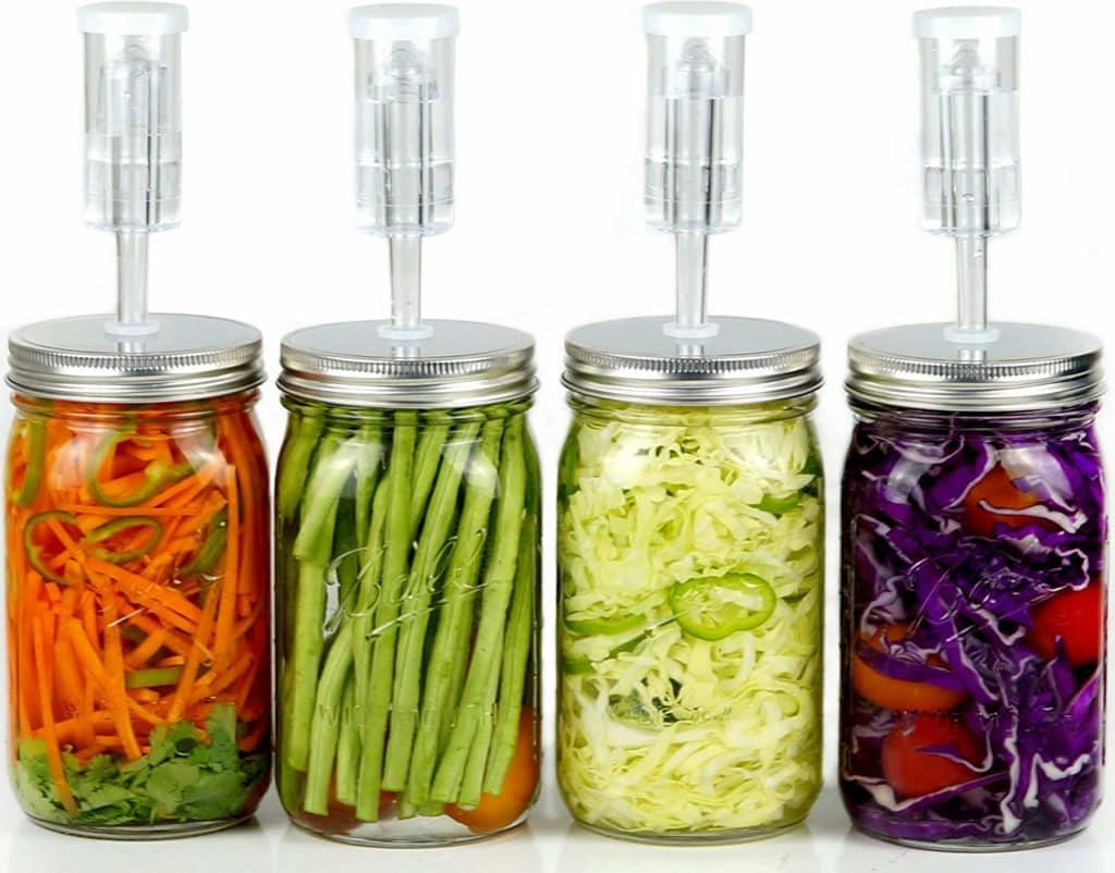 airlocks for fermenting probiotic drinks