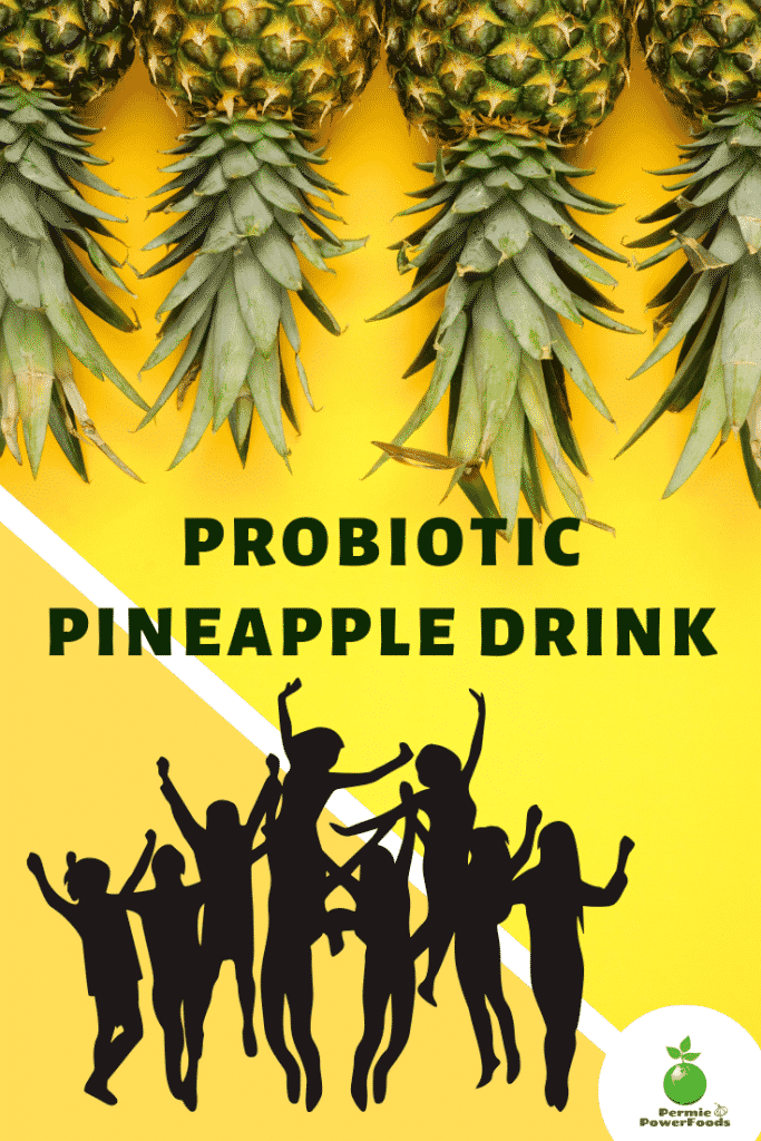 pineapple drink graphic