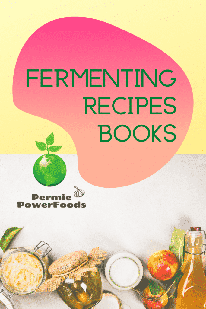 Fermenting recipe books for making probiotics at home