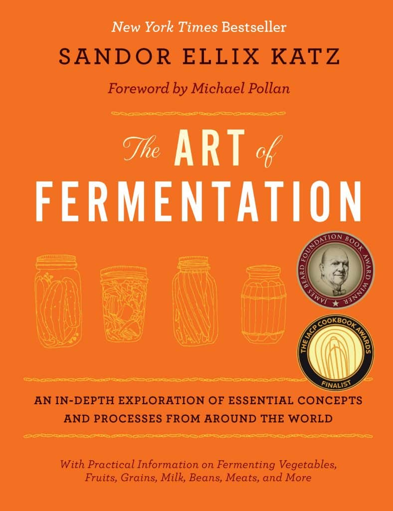 Bestseller book the art of fermentation by sandor katz