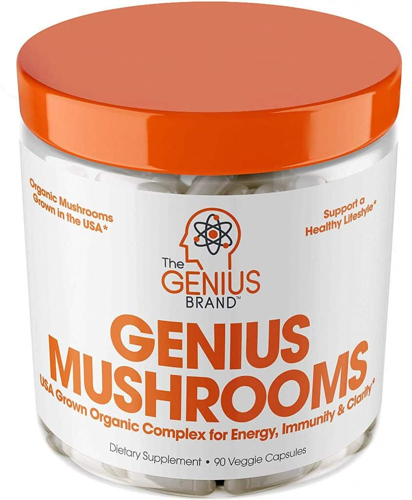 genius mushrooms supplement