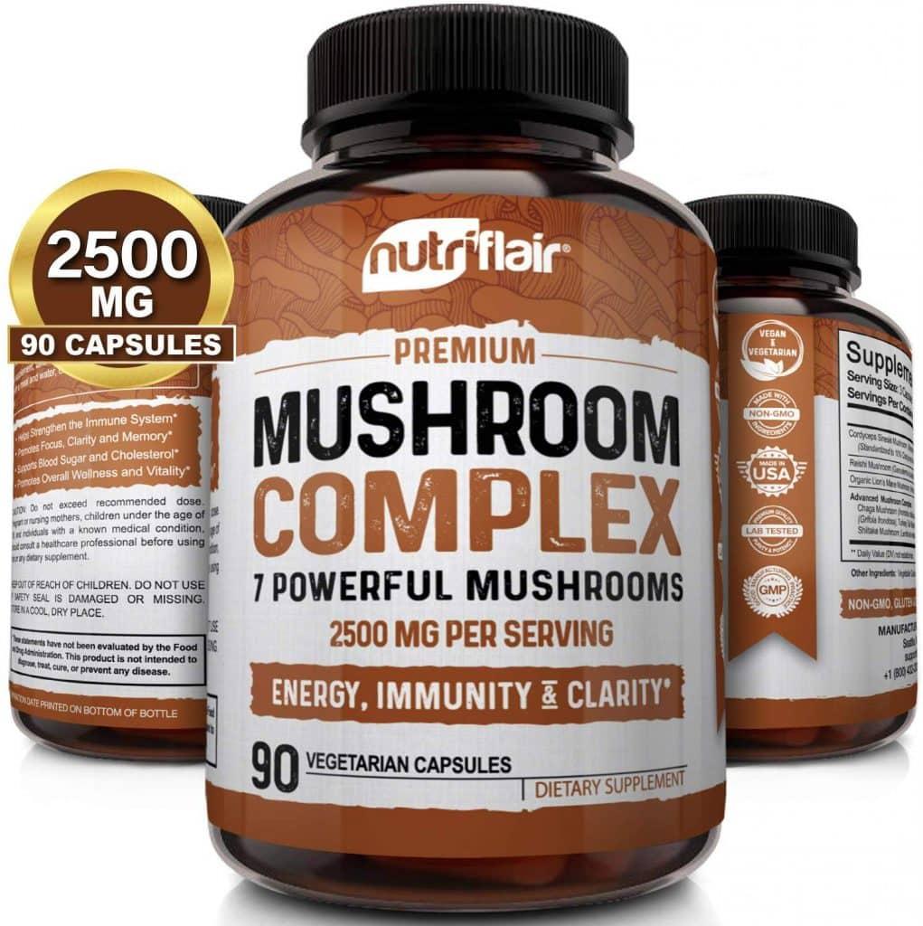mushroom complex 7 powerful mushroom supplement