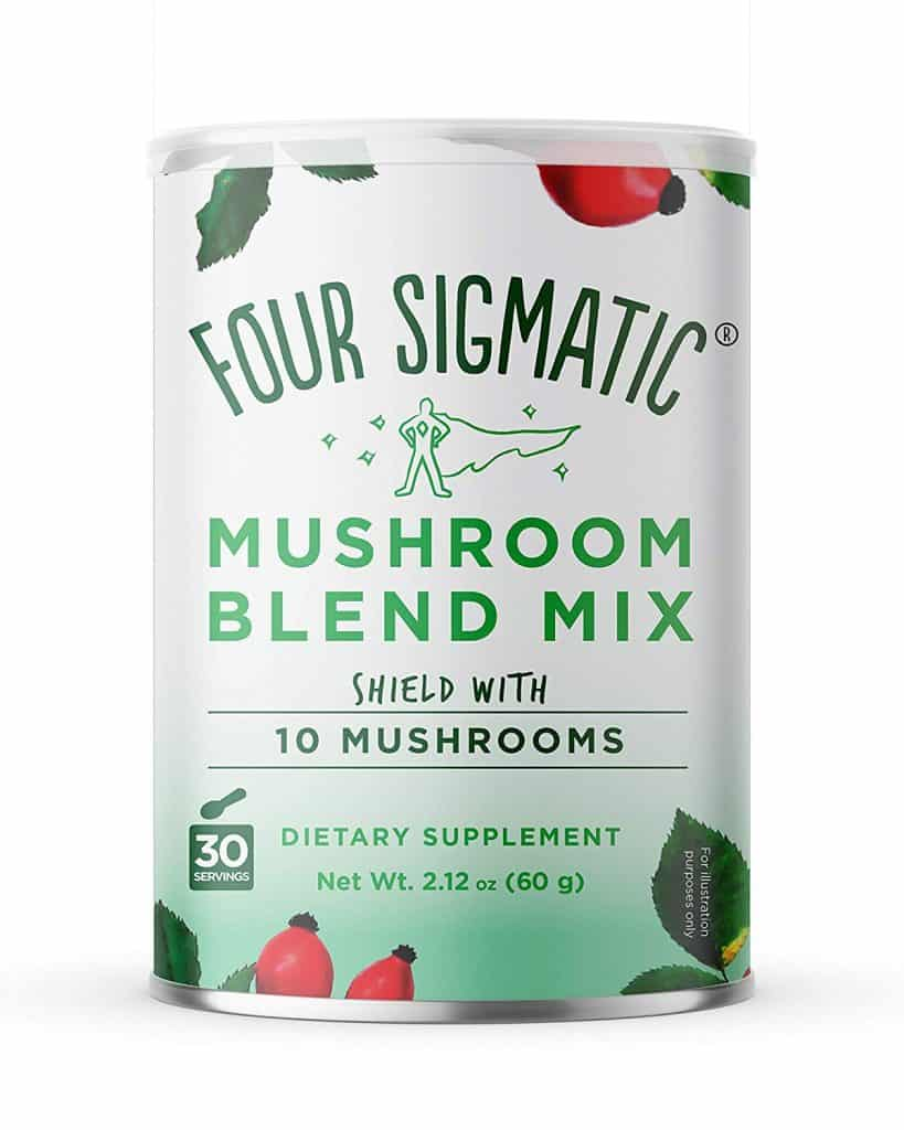 four sigmatic mushroom blend mix supplement